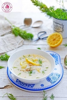 Grecka zupa jajeczno-cytryn...