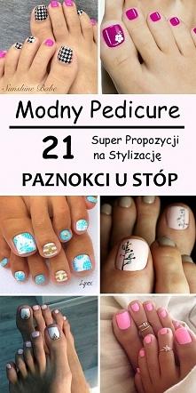 Modny Pedicure – 21 Super Propozycji na Stylizację Paznokci u Stóp
