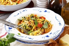 Spaghetti z cukinii – wegań...