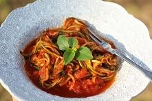 Spaghetti z cukinii – dla tych, co na diecie