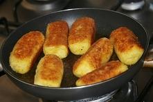 Krokiety ziemniaczane chrupiące z pieczarkami jak zrobić
