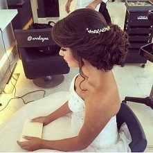 upięcie na wesele 2016