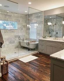 Idealnie rozłożona łazienka