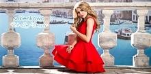Wyjątkowa czerwona sukienka...