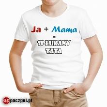 SPŁUKANY TATA - koszulka dziecięca