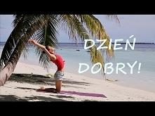 Poranna Joga na Dobry Dzień ♥ Joga z Gosią na Malediwach