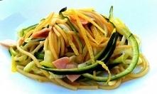 Spaghetti z cukinią, cytryn...