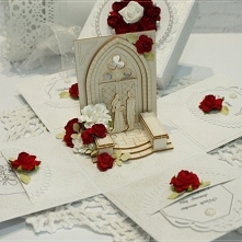 Pamiątka ślubna - exploding box glamour :)