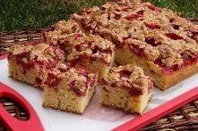 Truskawkowe ciasto na maśla...