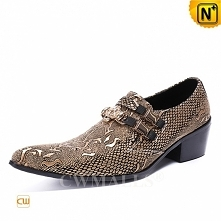 Men Leather Shoes | CWMALLS® Embossed Leather Loafers CW708215[Patented Produ...