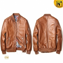 Men Leather Jackets | CWMALLS® Prague Patent Leather Motorcycle Jacket CW8080...