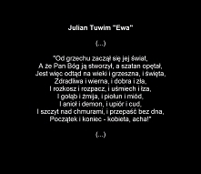 "Julian Tuwim ""Ewa"""