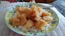 Śniadanie.. Ryż z jabłkami ...