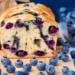 Ciasto jogurtowe z borówkami (bez tłuszczu)