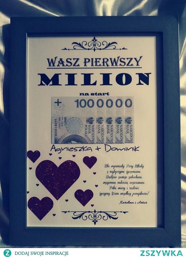 Pierwszy Milion Pary Młodej:)