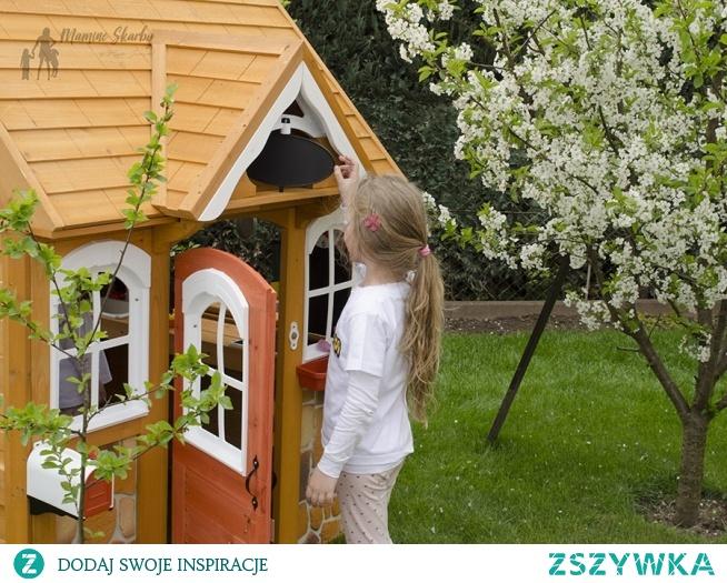 Domek drewniany dla dzieci - wspaniały do ogrodu. Idealny na prezent.
