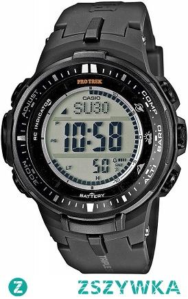 Casio PRW-3000-1ER sportowy zegarek dla mężczyzn zasilany energią słoneczną, wykonany z lekkiego tworzywa. Wyposażony w m.in. barometr, termometr, wysokościomierz. Wodoodporność 10 ATM. Aby przenieść się do sklepu kliknij w zdjęcie :)