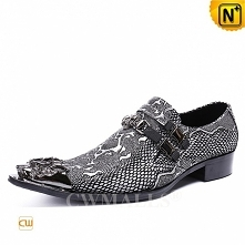 Men Leather Shoes | CWMALLS® Embossed Leather Dress Shoes CW708213[Patented D...