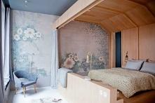 sypialnia/łóżko w nietypowy...