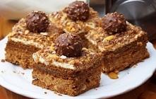Ciasto Ferrero Rocher (bez pieczenia)