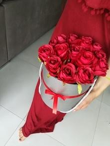 Samodzielnie robiony flower box na dzień matki :)
