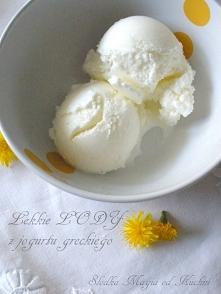 Lody z jogurtu greckiego (b...