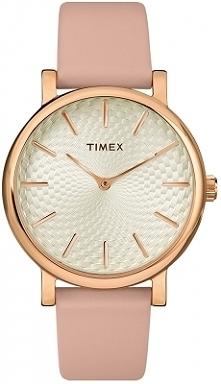 Timex TW2R85200 klasyczny zegarek dla kobiet w wiosennym połączeniu kolorów różowego złota i jasnego różu. Wykonany ze stali na skórzanym pasku. Aby przenieść się do sklepu klik...