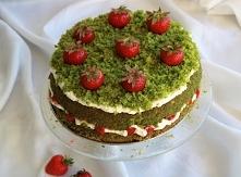 """Szybkie i łatwe ciasto """"Truskawkowe pole"""" - przepis po kliknięciu w..."""