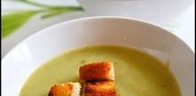 Zupa krem z brokuła z grzan...