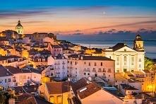 Portugalia, Lizbona. Inspiracje na wakacje. Po puzzle klikajcie w obrazek. #p...