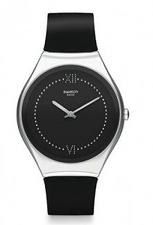 Swatch SYXS109 elegancki zegarek damski wykonany z tworzywa na silikonowym, czarnym pasku. Stylowy i klasyczny dla każdej kobiety. Aby przenieść się do sklepu kliknij w zdjęcie :)