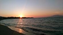 zachód słońca nad morzem jońskim
