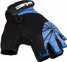 W-TEC Damskie rękawice rowerowe Klarity AMC-1039-17 czarno-niebieskie r. M (1...