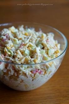 Sałatka z makaronem ryżowym...