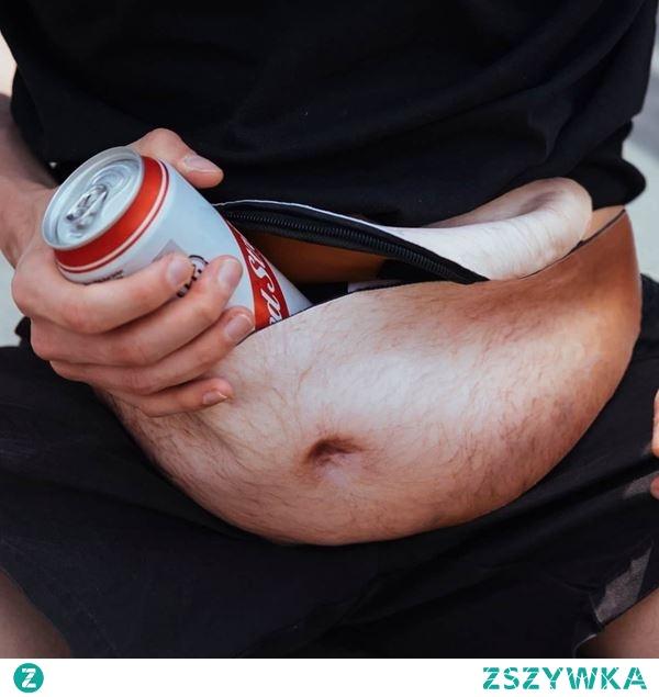 Saszetka z piwnym brzuchem :D