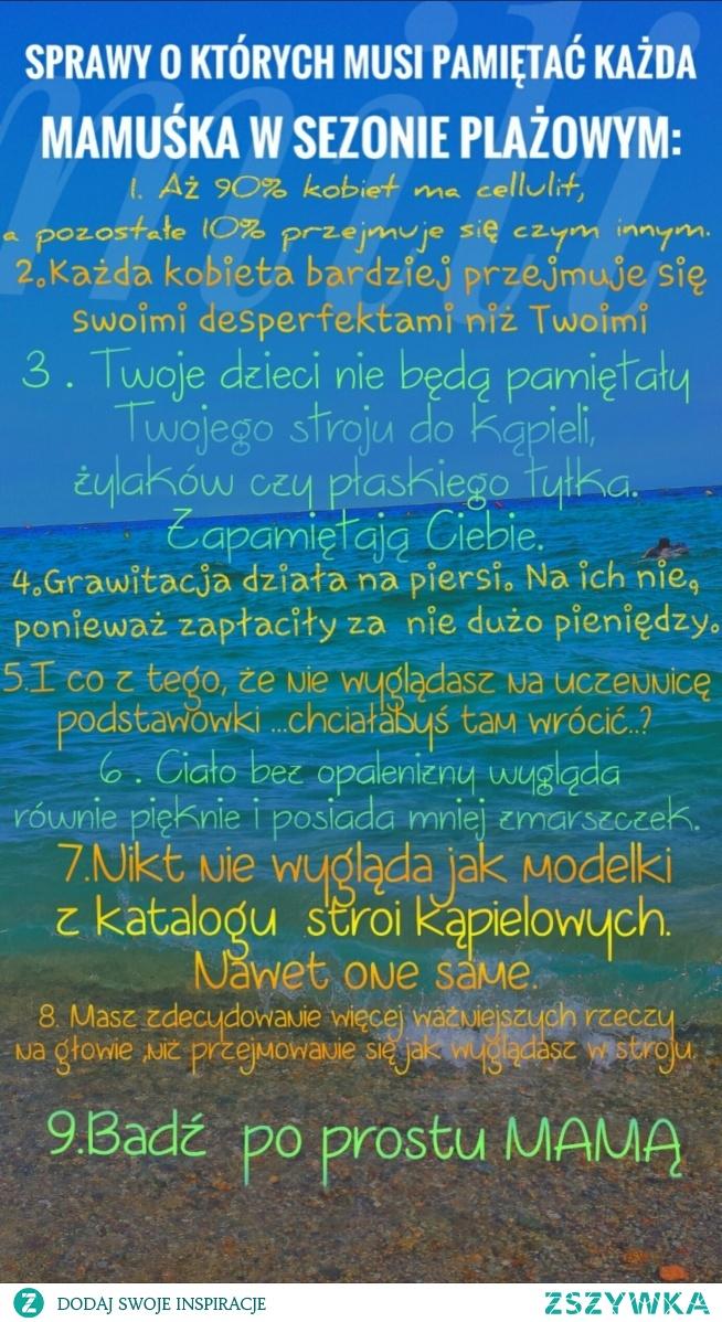 Mamuśki na plaży:)