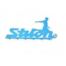 Stilon II to kolejny wieszak dedykowany kibicom Klubu Piłkarskiego Stilon. Solidnie wykonany z  metalu. Precyzyjnie wycinane litery i malowanie proszkowe gwarantuje zadowolenie ...