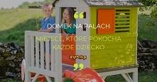 To nie jest zwykły domek. To domek, w którym panuje świetna zabawa i rusza wyobraźnia. Dzieci marzą o domku na drzewie, ale nie każdy rodzic ma możliwość spełnić takie życzenie....