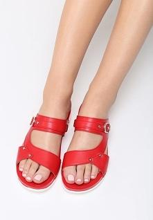Czerwone Sandały Deep Water
