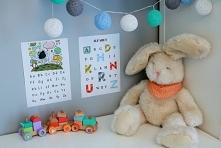 Alfabet dla dzieci w 4 wersjach - do druku za darmo