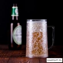 Kufel Chłodzący Piwo!  500ml Pierwsze Prawo Smart Kufla: Prędzej skończysz pi...