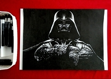 come to the dark side ;)  Darth Vader - format A3