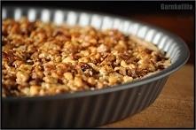 TARTA BANANOWO-ORZECHOWA – bez glutenu, jajek i cukru