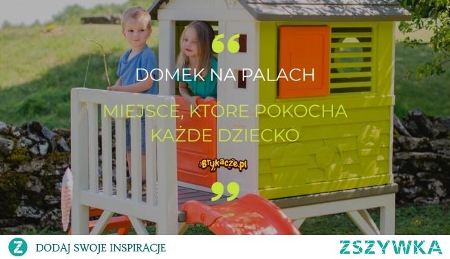 To nie jest zwykły domek. To domek, w którym panuje świetna zabawa i rusza wyobraźnia. Dzieci marzą o domku na drzewie, ale nie każdy rodzic ma możliwość spełnić takie życzenie. Co zatem zrobić, aby dziecko miało namiastkę posiadania domku na wysokościach?  Poniżej zabawka ogrodowa, którą pokochało już tysiące dzieci. Za co? Przejdźmy dalej