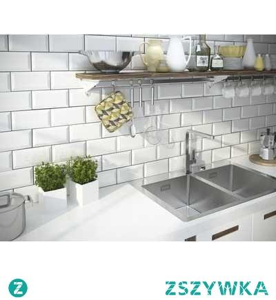 Rozwiązanie będące w modzie. Sprawia że nasze kuchnia czy łazienka wygląda zupełnie inaczej.