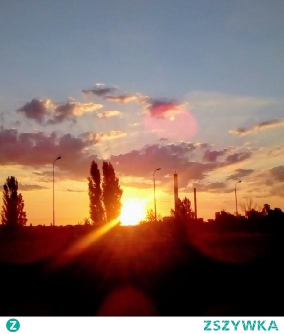 Wschód Słońca łódź 09062018 Godz 445 Na Moje Miasto