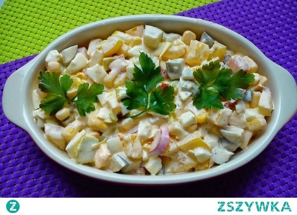 Paprykowa sałatka - szybko, prosto i smacznie, idealna na kolację