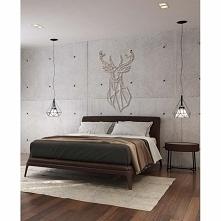 Dekoracja ścienna JELEŃ to wykonana z drewna (sklejki) ozdoba poroża młodego jelenia. Ta drewniana dekoracja na ścianę doskonale nadaje się do współczesnych wnętrz, gdzie idealn...