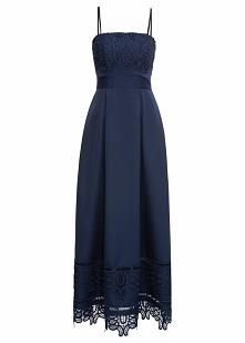 Sukienka ślubna bonprix ciemnoniebieski