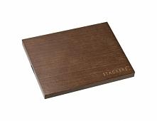 Pokrywka drewniana do pudełek na biżuterię Mini Stackers ciemna